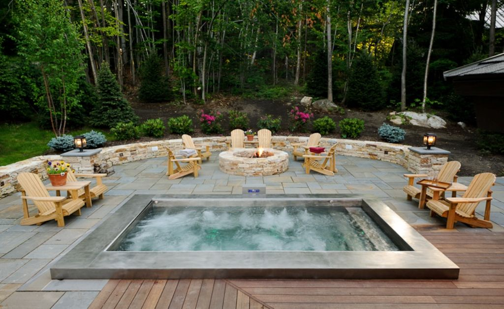 25 Awesome Hot Tub Design Ideas   Hot tubs, Tubs and Garden