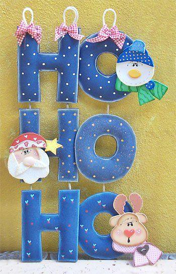 Enfeite de natal para paredes e portas em EVA moldes eva Natal, Decoraç u00e3o de natal e  # Decoração Em Eva Natal