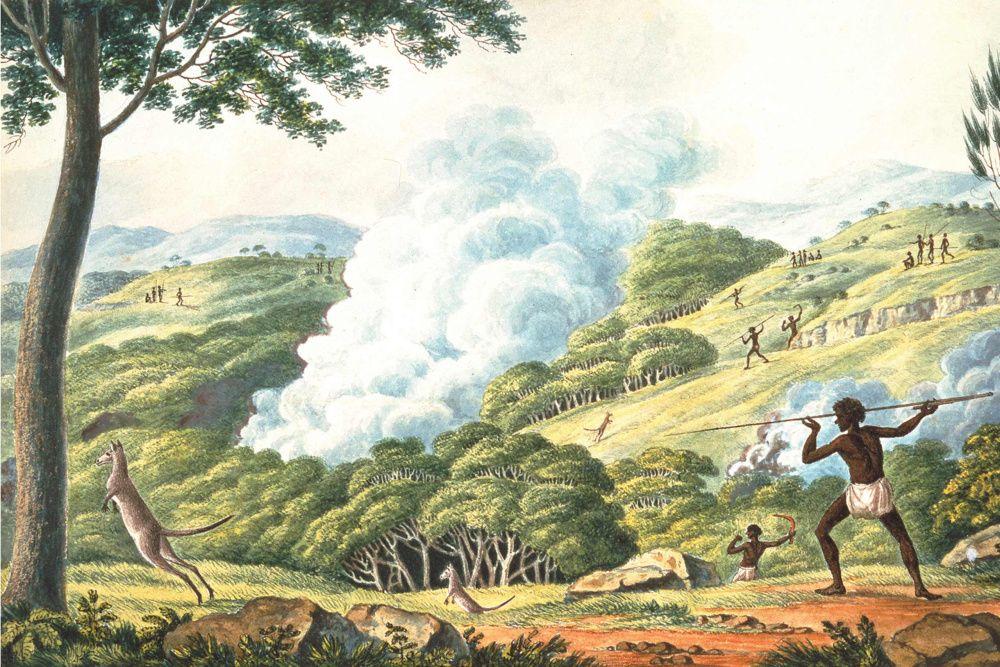 Firestick farming, a term coined by Australian