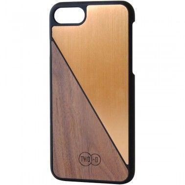 Walnut Bronze aluminium iPhone 7 case