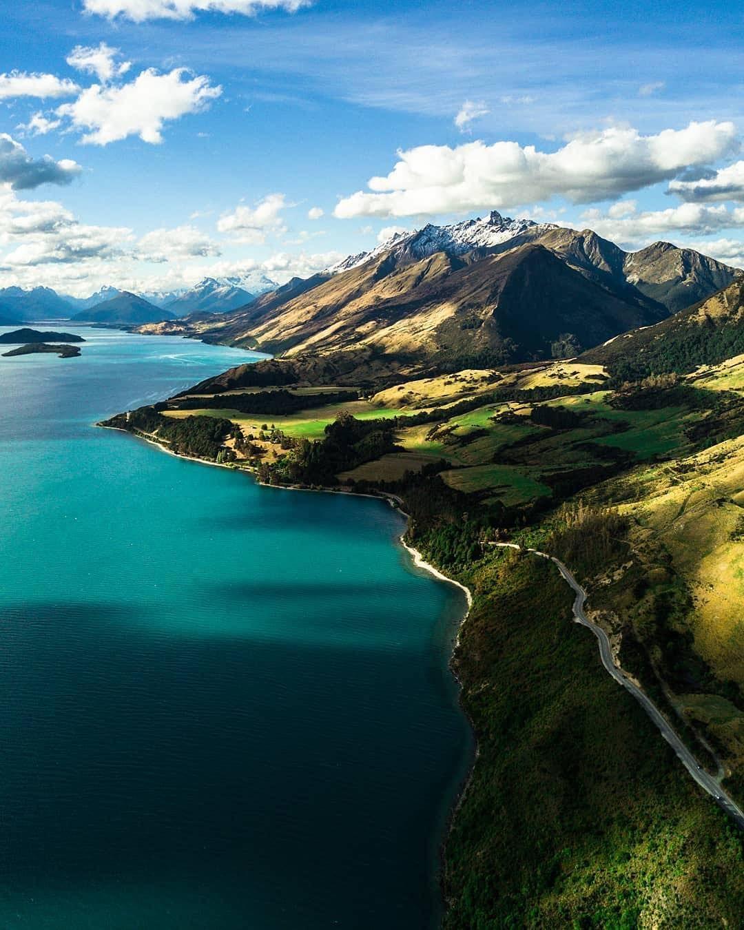 новая зеландия красивые виды фото используете слоеное