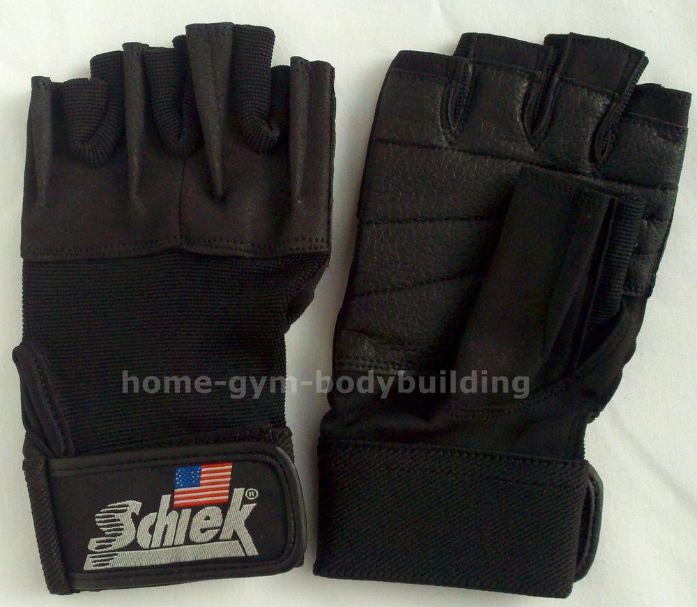 Cheap Fitness Gloves: NEW Schiek Model 520 Womens Black Weight Lifting Gloves W