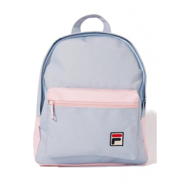 2dc0dc302 Fila Mini Pastel Backpack ($28) ❤ liked on Polyvore featuring bags,  backpacks, pink bag, mini bag, zipper bag, backpack bags and fila backpack