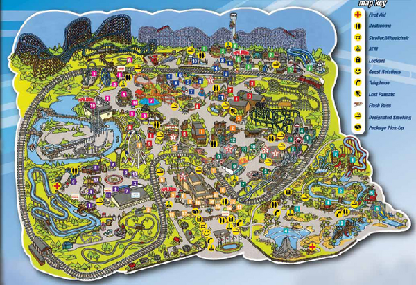 The Best Rides You Can Go On At Six Flags St Description From Pinterest Com I Searched For This On Bing Com Images St Louis Six Flags Six Flags St Louis Map