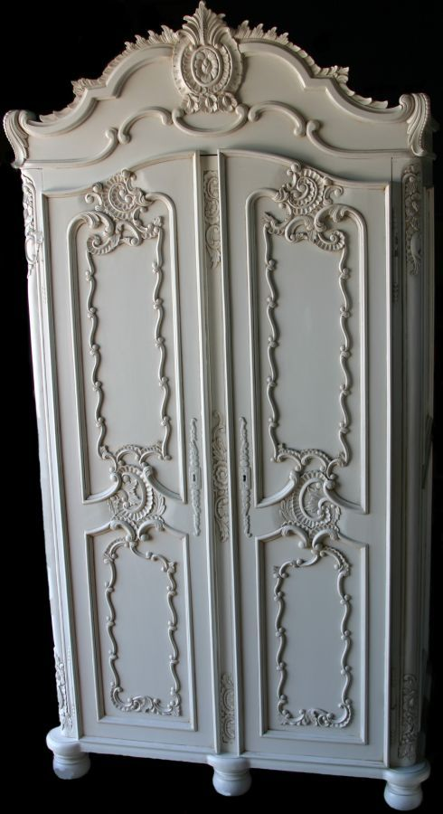 "Ornate armoire for ""dress up"" clothes. Would look cool ..."