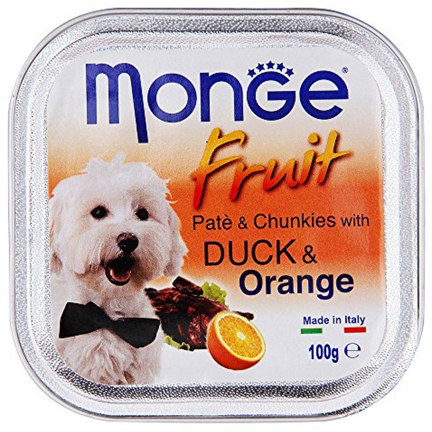 Monge Fresh Pate And Duck And Orange 3 Trays X 100 G You Can