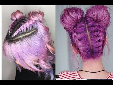 Peinados Tumblr Faciles Para Cabello Corto 2018 3 Youtube