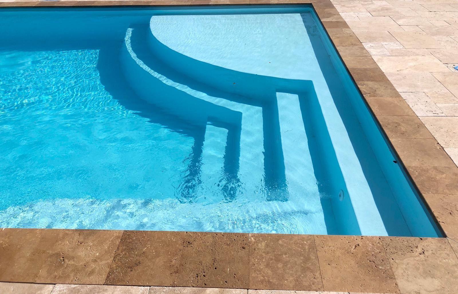Pin By Melissa B Baker On Pool Ideas In 2020 Beach Entry Pool San Juan Pools Inground Fiberglass Pools