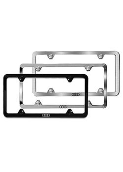 Slimline License Plate Frame Audi Rings Thumbnail Cars - Audi license plate frame