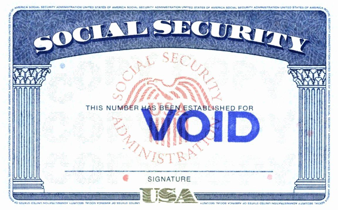 Social Security Card Template Free Atlantaauctionco For Social Security Card Template Fr Social Security Card Credit Card Images Free Business Card Templates