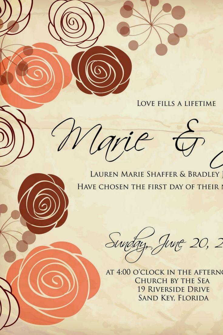 Ideal wedding invitations wedding invitation in pinterest
