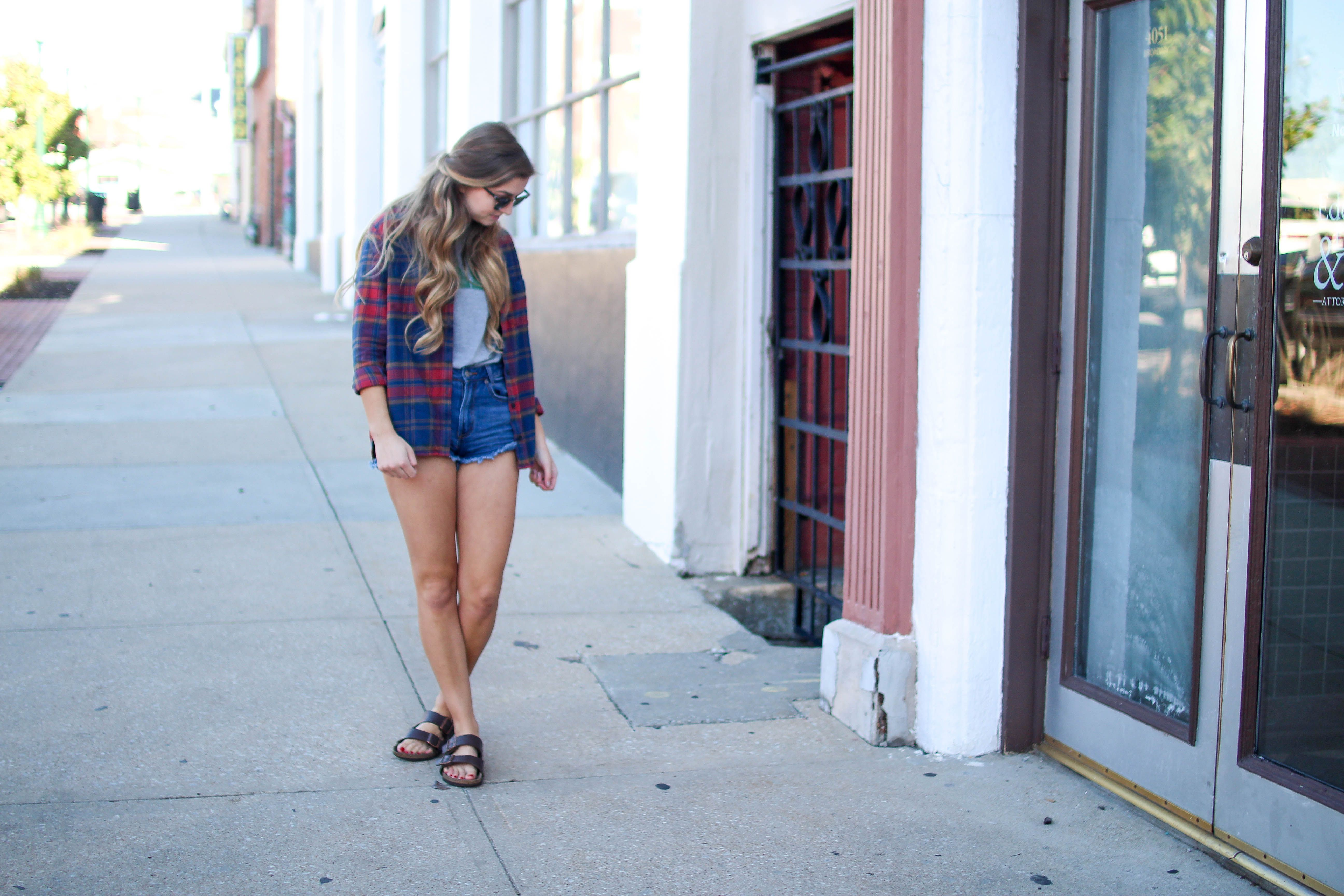 Flannel shirts and shorts  How to style flannel shirts kale shirt on the blog daily dose of