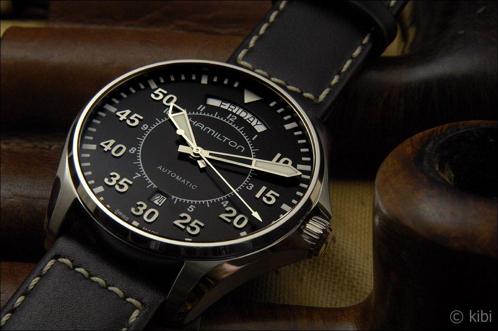 Hamilton khaki pilot day date in Australia