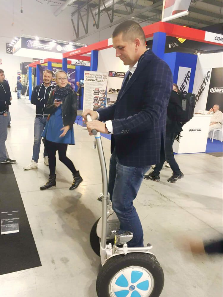 Airwheel in Italy