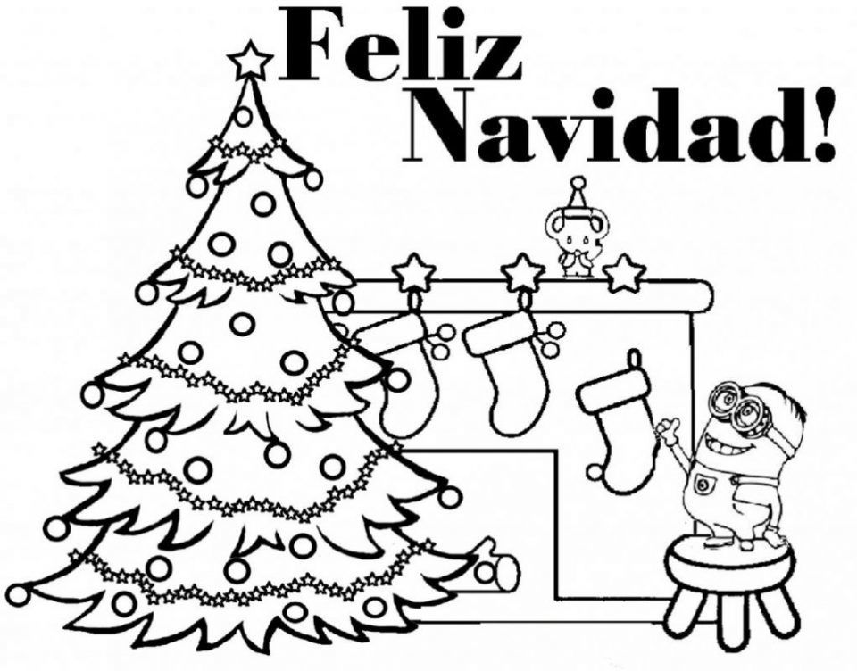 Dibujos Para Colorear Minions Navidad Hello Kitty Colouring Pages Hello Kitty Coloring Christmas Coloring Sheets