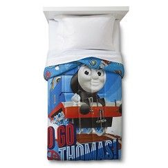 Thomas and Friends Microfiber Comforter - Blue (Twin ...