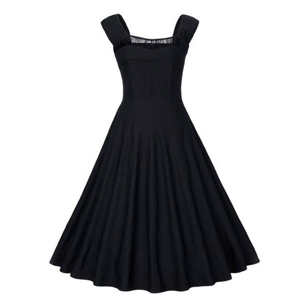 Stylish Sweetheart Skater-dress ( 22) ❤ liked on Polyvore featuring  dresses a56620f4a08