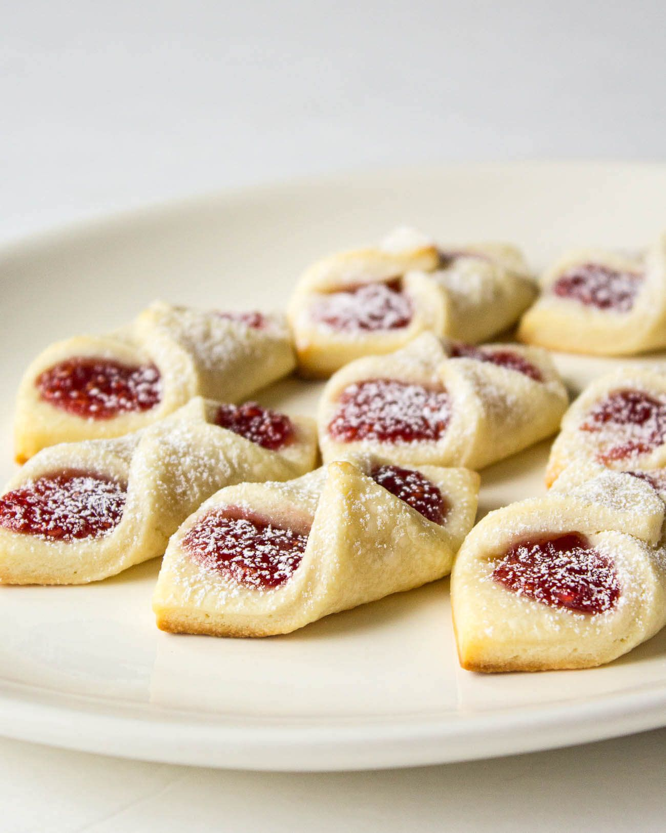 Raspberry Bow Tie Cookies