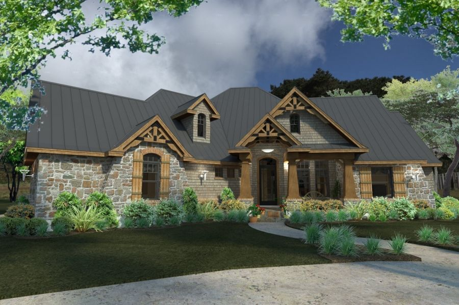 La Meilleure Vie Dream House Plans Craftsman Style House Plans