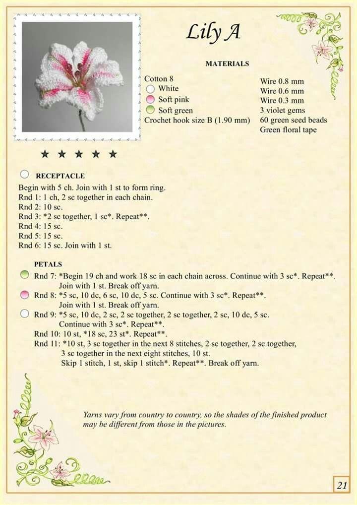 Pin von nagylia@ymail.com auf bijuterii,flori croșetate si nu numai ...