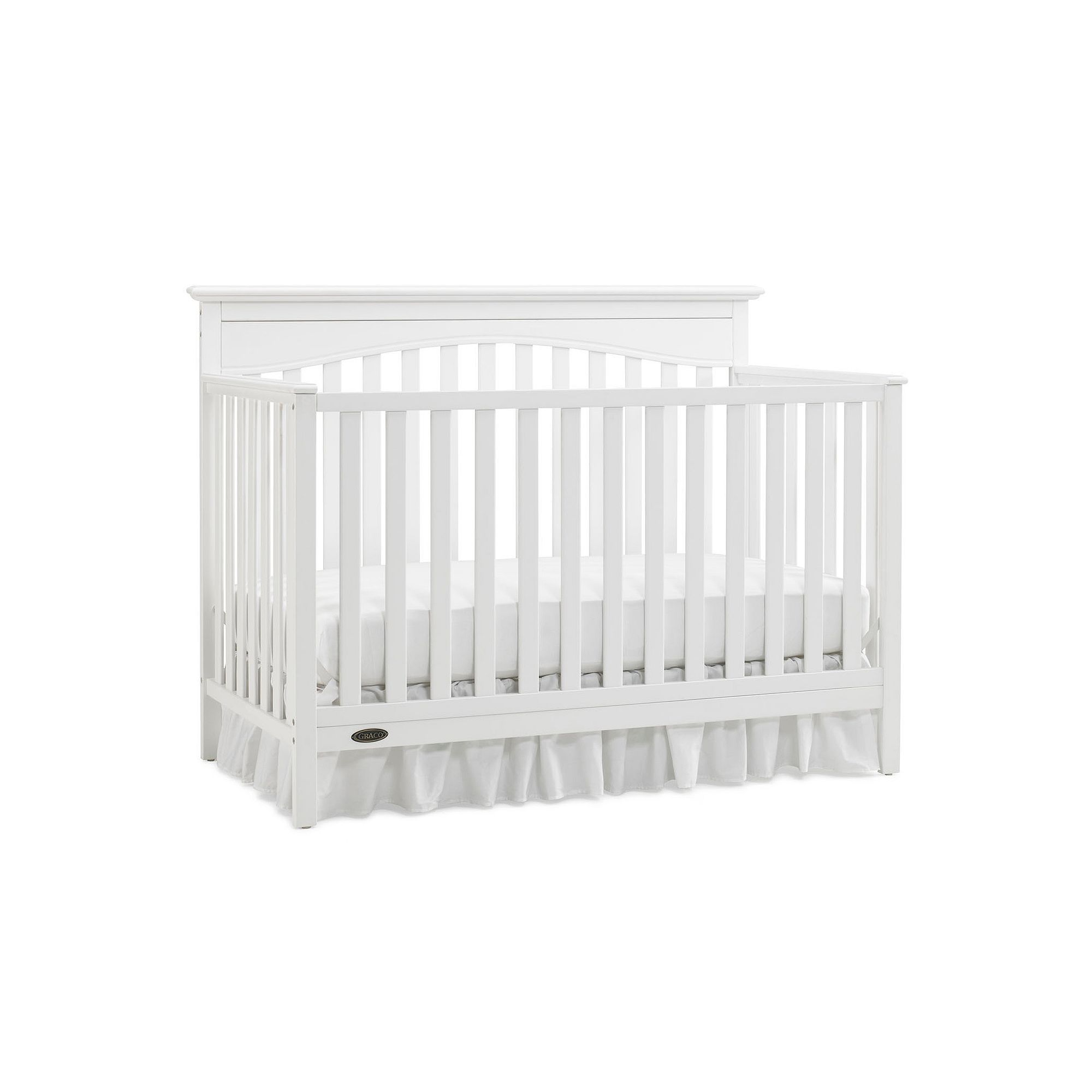 Graco hayden 4 in 1 convertible crib white durable