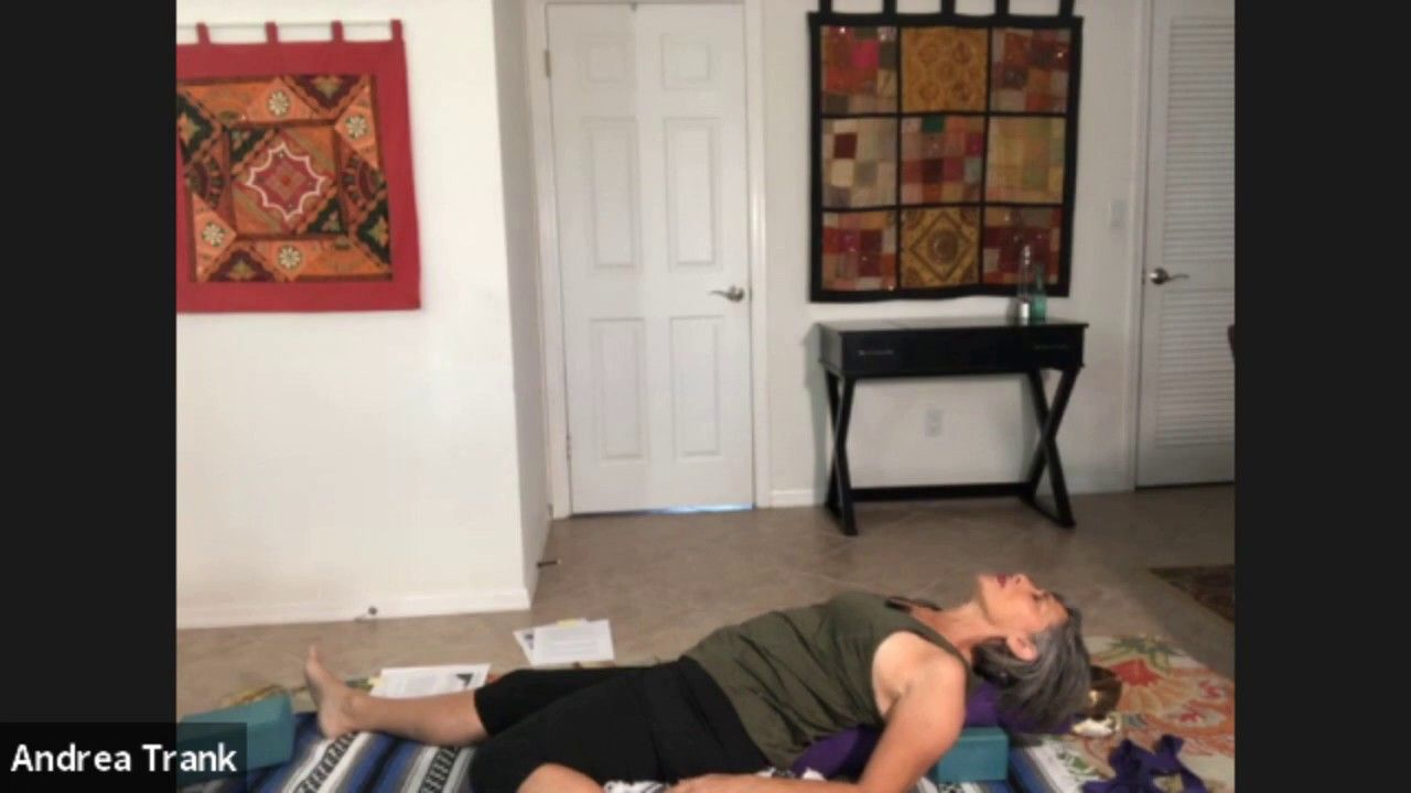 Yin Yoga Four Agreements Preview Half Saddle Andrea Trank