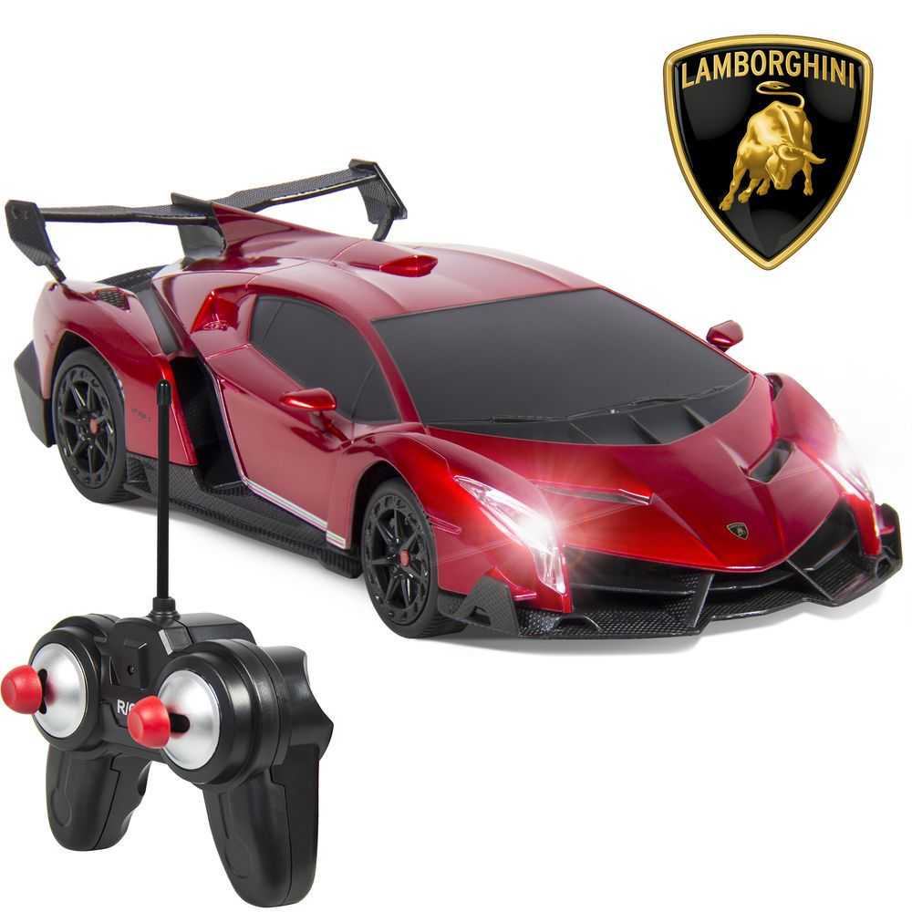 Remote Control Lamborghini Veneno Sport Racing RC Car With Lights Lambo Toy  Car #BestChoiceProducts