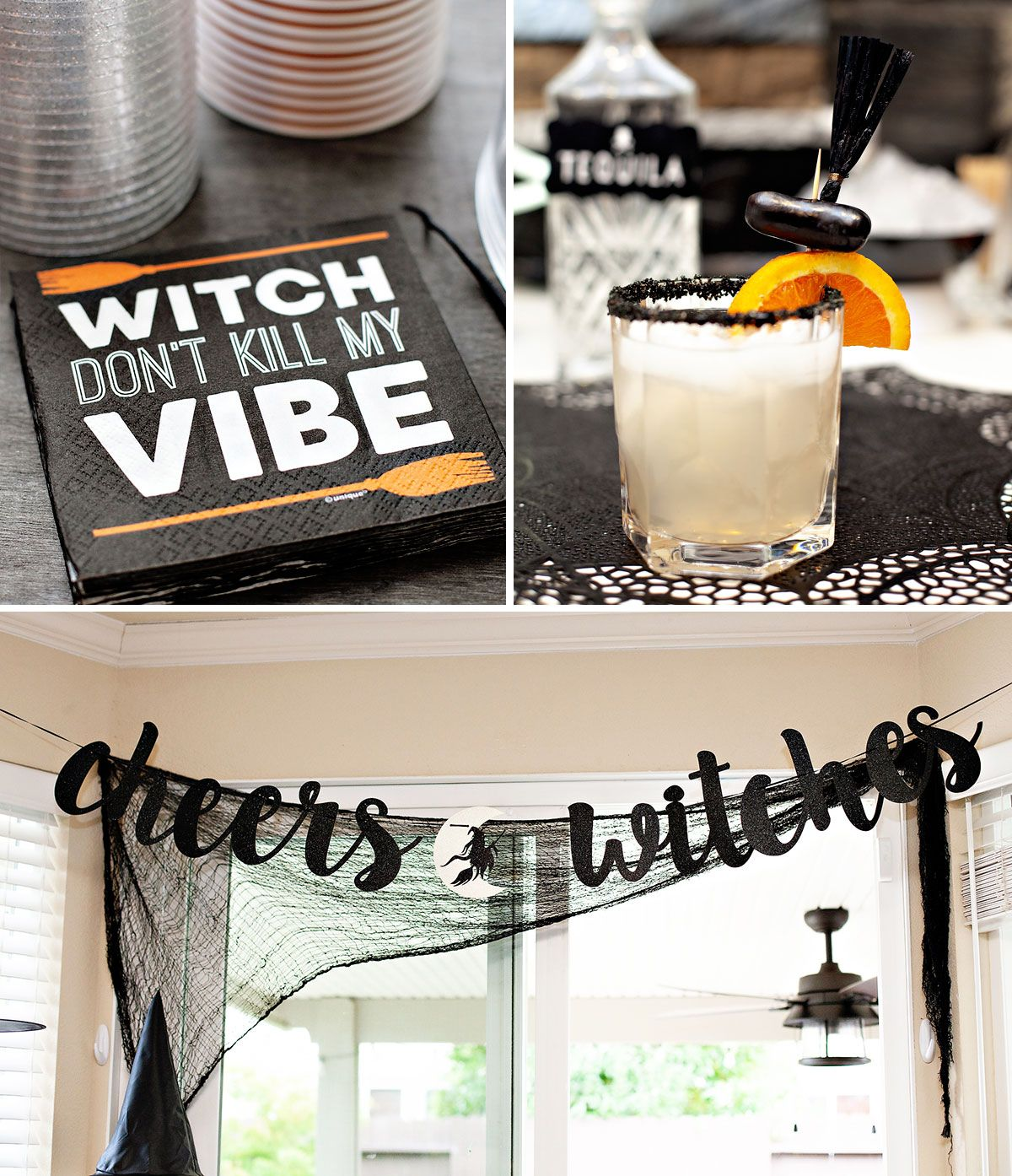 A Modern Witch Inspired Halloween Party #modernwitch