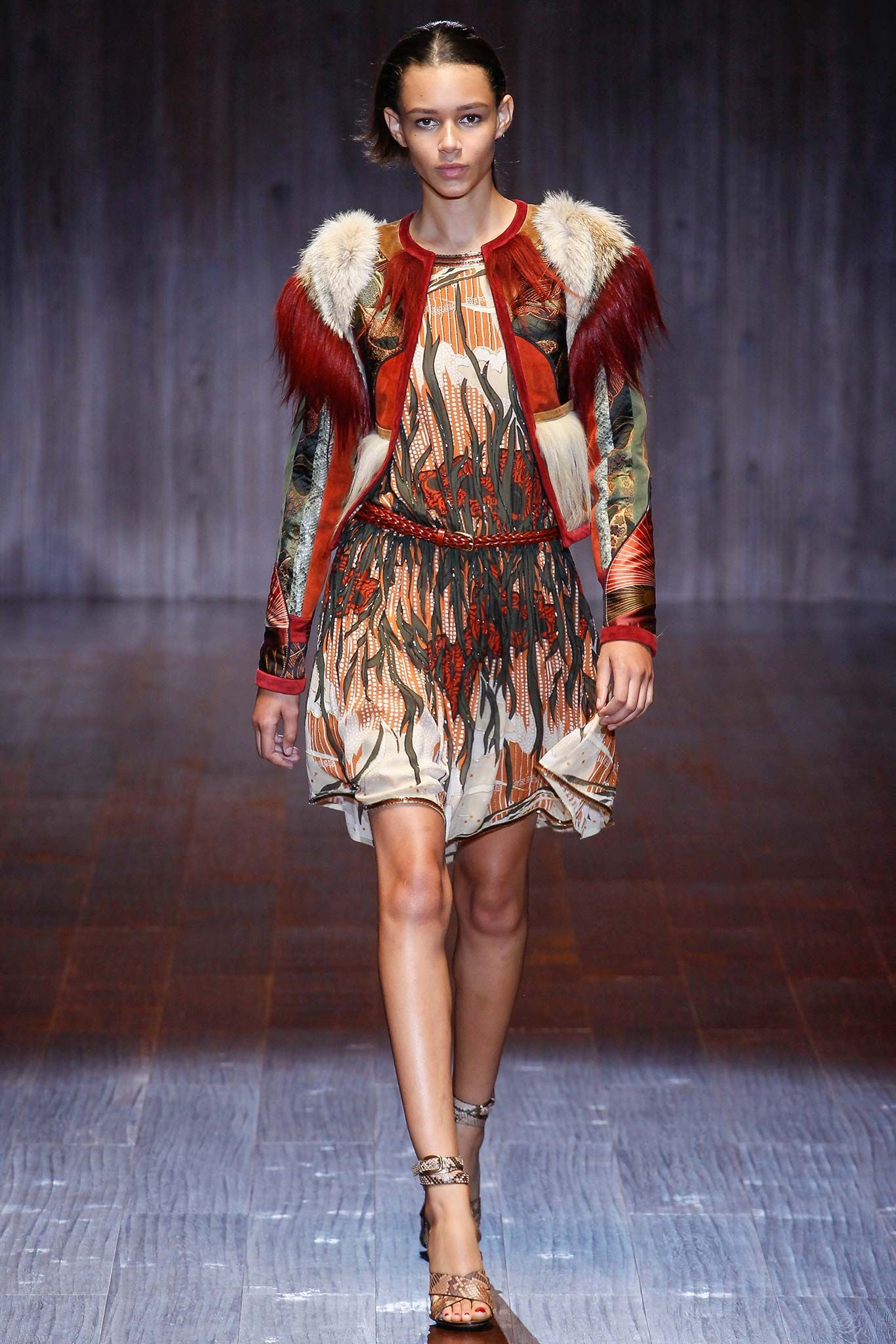 bd7f79b67d7 Gucci Spring 2015 Ready-to-Wear - Collection - Gallery - Look 2 - Style.com