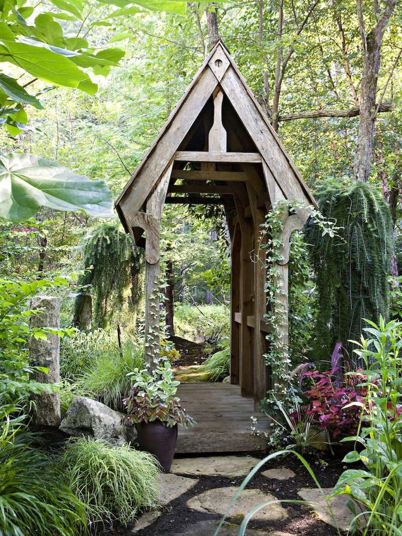 """thisoldhouse """" GARDEN DESIGN Magical Garden Rooms How an"""