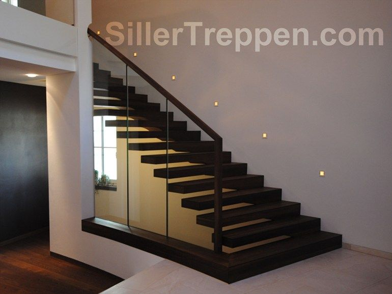 Best Self Supporting Open Staircase Europa Commercial Siller 400 x 300