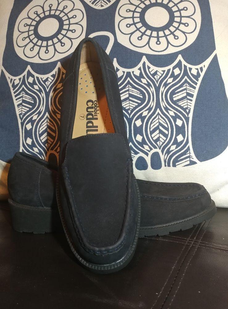 0b7bef06d36ef Cobbie Cuddlers 7 black leather shoes ladies womens loafers 1.5 heel soft  feel #CobbieCuddlers #LoafersMoccasins