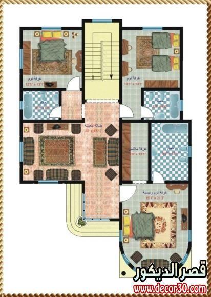 تصاميم فلل واسعه Designs And Wide Villas