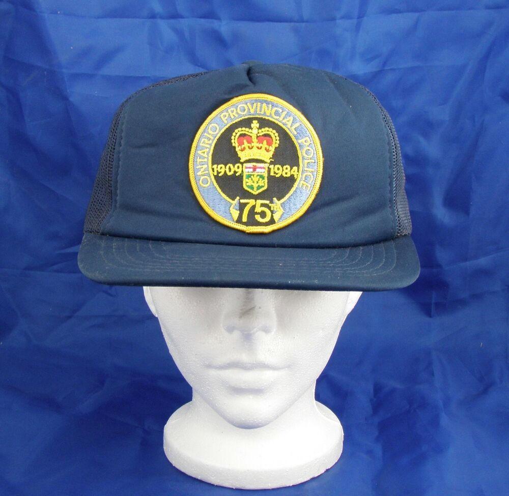 b03ab5a5 Vintage 1980s OPP Ontario Provincial Police 75th Anniversary Mesh Trucker  Cap #fashion #clothing #shoes #accessories #mensaccessories #hats (ebay  link)