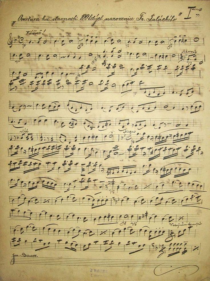 Stunning Antique Handwritten Sheet Music From 1903 And 1904