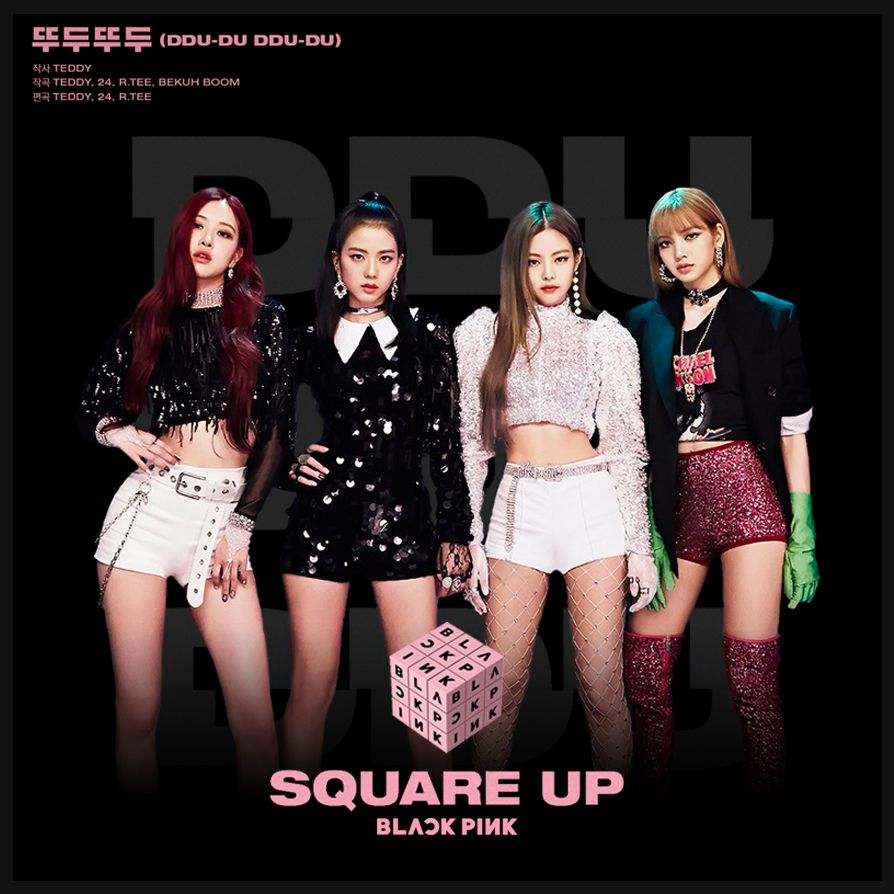 Blackpink Square Up Album Cover By Minayeon1999 With Images