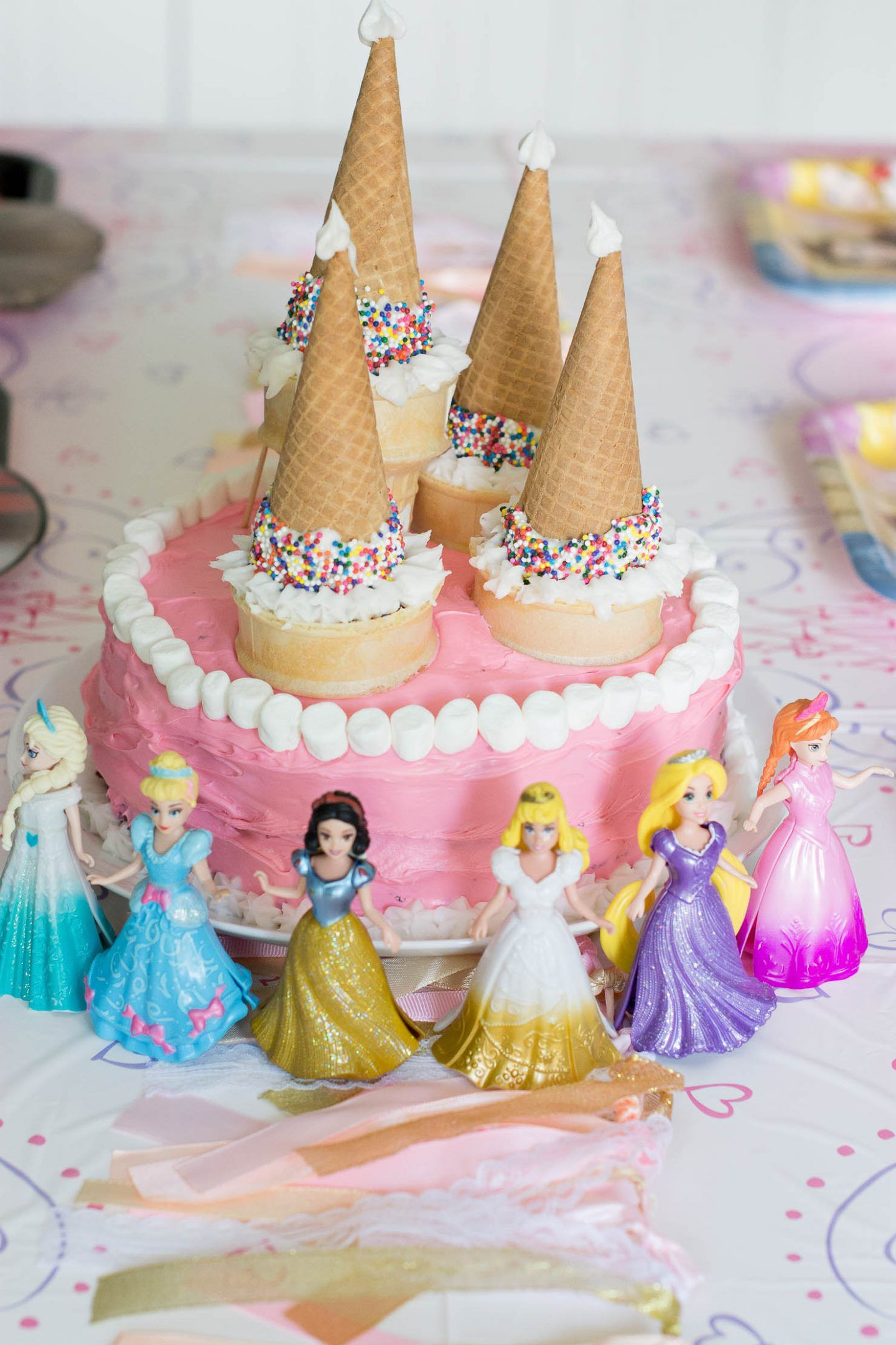 An Easy Princess Cake For Your Little Princess Easy Princess