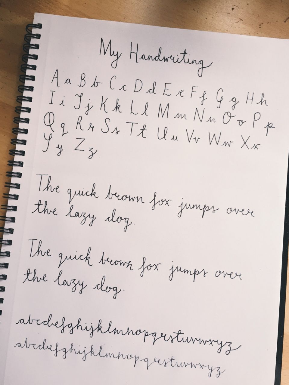 Had a few requests for a sheet of my handwriting, so I've