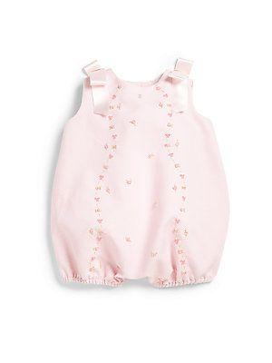 Luli and Me Infant's Piqu? Bubble Bodysuit
