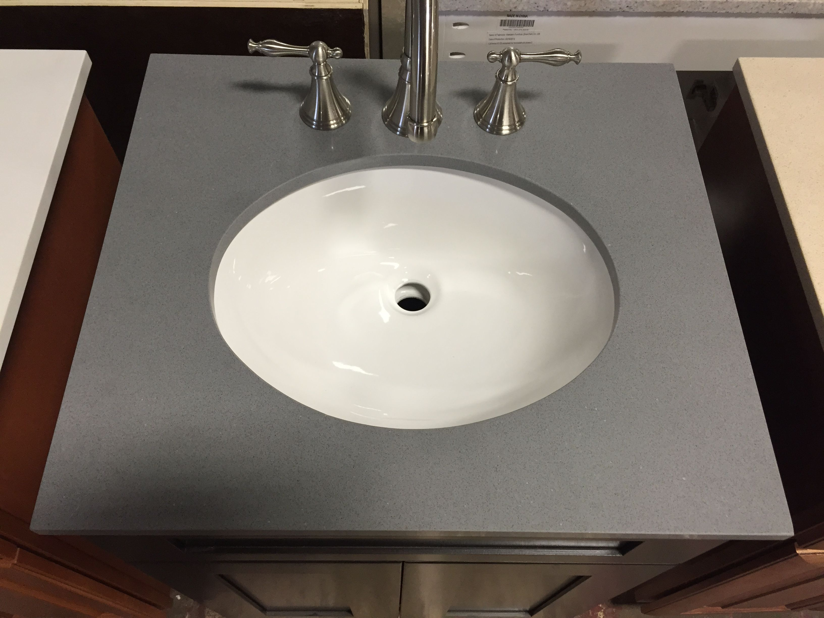 grey top stone pa vanity home tops speckle quartz store