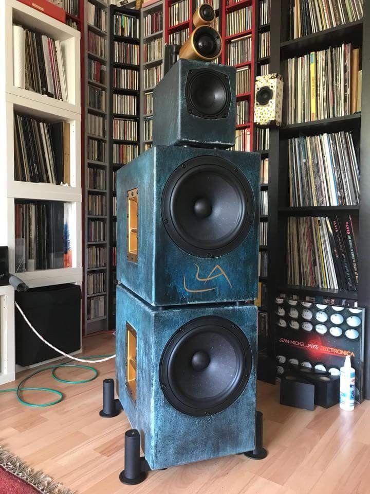 L'Art du Son | sound | Pro audio speakers, Hifi audio, Speaker amplifier