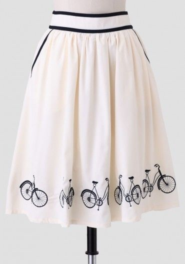 Afternoon Ride Skirt | Modern Vintage Skirts | Ruche