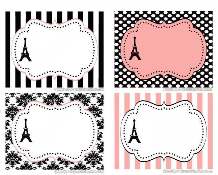 etiquette vintage a imprimer pour cadeau ou pot de confiture avec tour dessin picto. Black Bedroom Furniture Sets. Home Design Ideas