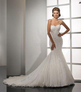 New White/ivory Lace Wedding Dresses