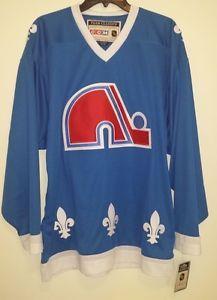 NEW CCM Quebec Nordiques Retro NHL Hockey Jersey Mens Medium M Vintage  Avalanche 7ab9ab0f602