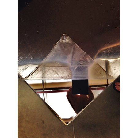 One Clear Acrylic Plexiglass Mirror Sheet 1 8 12 X 24 Walmart Com In 2020 Acrylic Mirror Sheet Clear Acrylic Plexiglass