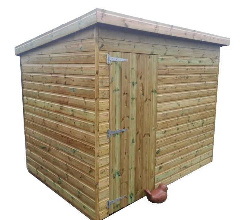 6x6 8x6 10x6 Pressure Treated Wooden Shed Pent Style View More On The Link Http Www Zeppy Io Product G Shed Tongue And Groove Cladding Small Gardens