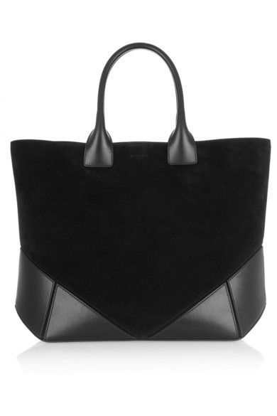 a36498f6c631 GIVENCHY Easy tote in black suede and leather. Love this bag!! - Sale! Up  to 75% OFF! Shop at Stylizio for women s and men s designer handbags
