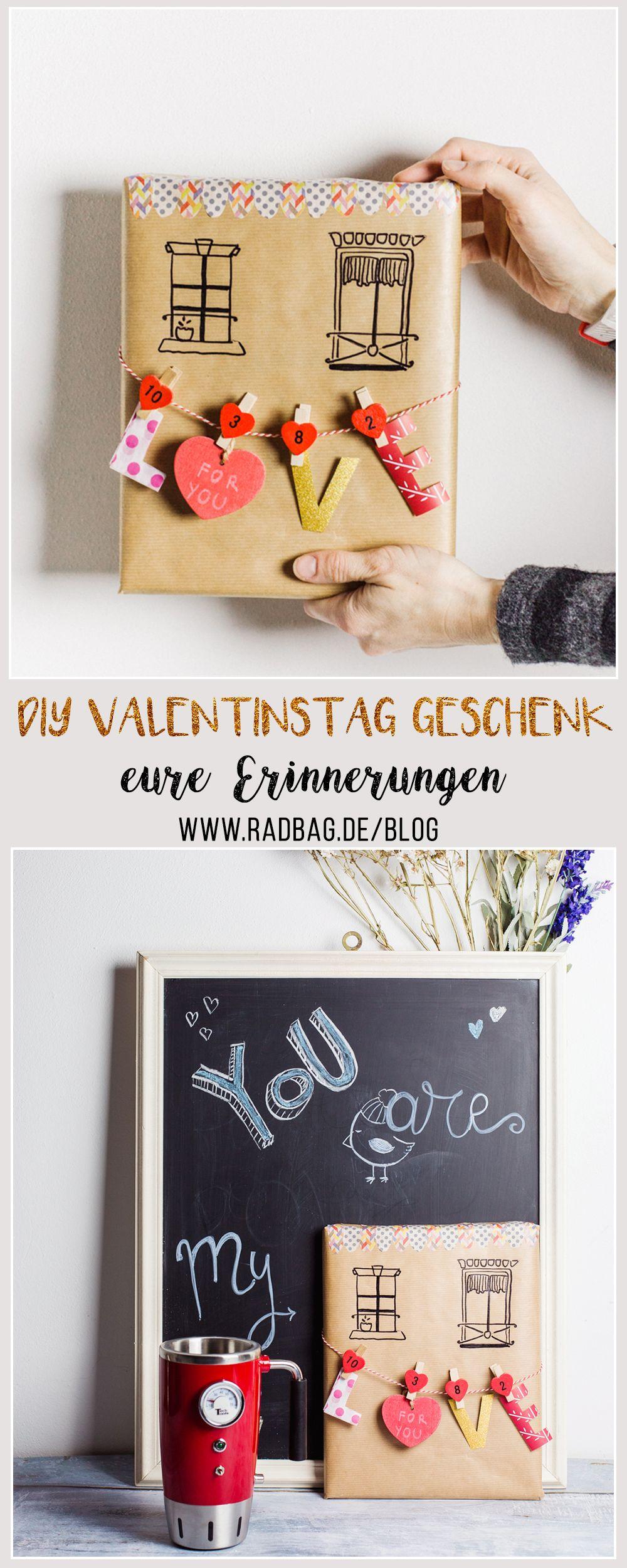 DIY Valentinstag Geschenk: Euer ganz persönliches