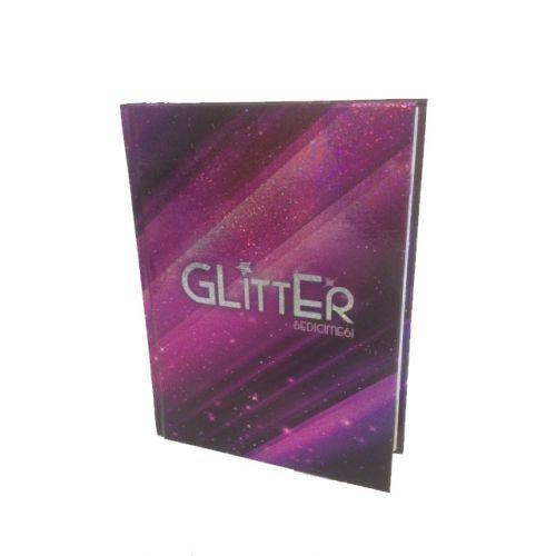 Glitter diario scuola 16 mesi 2015 - in omaggio smalto glitter